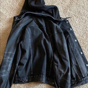 Anerican Eagle jean hoodie/jacket